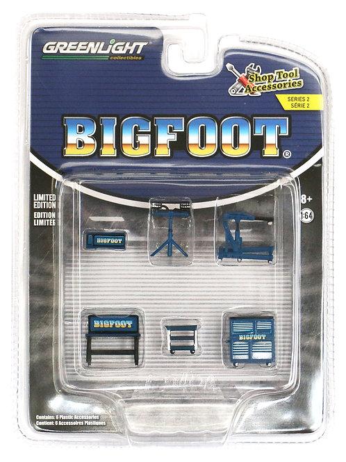 GL Bigfoot Monster Truck Shop Tool Accessories Pack