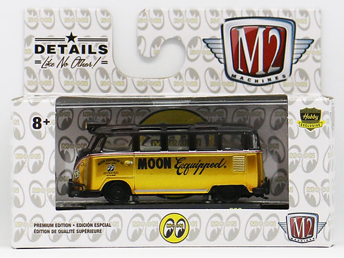 M2 1959 VW Microbus Deluxe U.S.A. Model Mooneyes