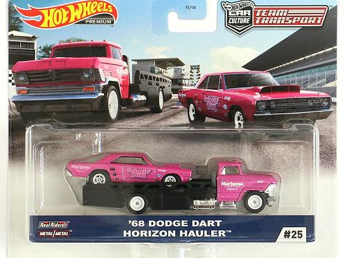 HW Team Transport #25 '68 Dodge Dart Horizon Hauler