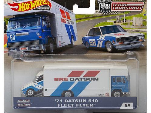 HW Team Transport #9 BRE '71 Datsun 510 Fleet Flyer