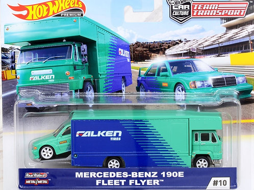 HW Team Transport #10 Mercedes-Benz 190E Fleet Flyer, Falken