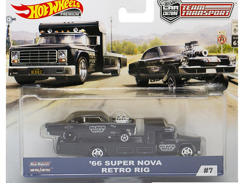 HW Team Transport #7 '66 Super Nova Retro Rig