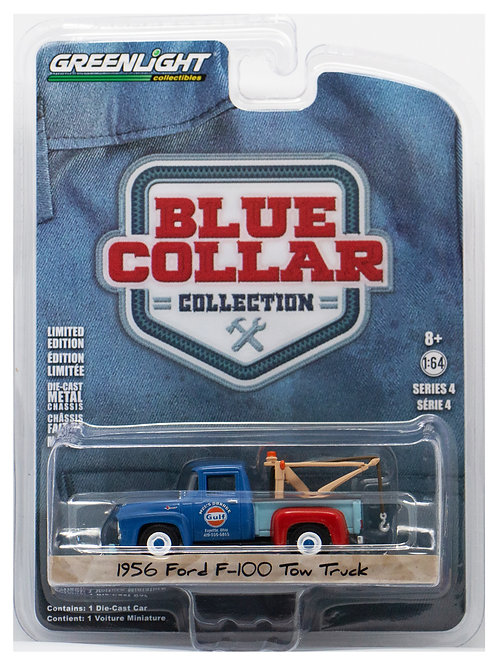 GL 1956 Ford F-100 Tow Truck Blue Collar Collection