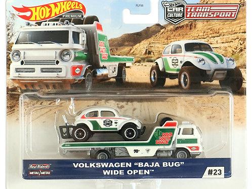 """HW Team Transport #23 Volkswagen """"Baja Bug"""" Wide Open"""