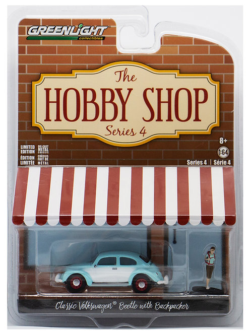 GL The Hobby Shop Classic Volkswagen Beetle with Backpacker