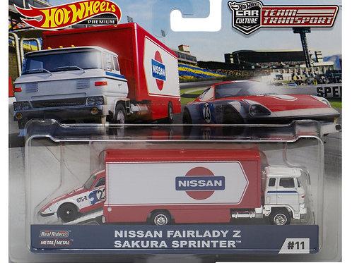 HW Team Transport #11 Nissan Fairlady Z Sakura Sprinter