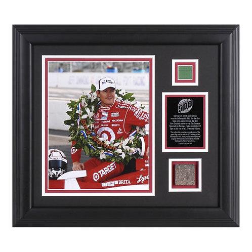 Scott Dixon - framed set 2008 Indy 500 Winner