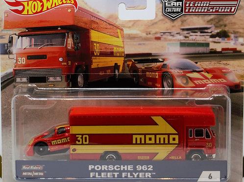 HW Team Transport #6 Porsche 962, Fleet Flyer, MOMO