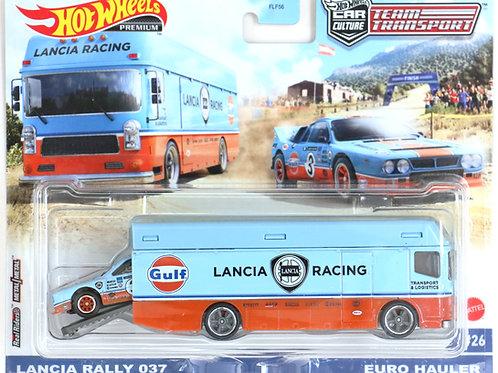 HW TT#26 Lancia Rally 037 &Euro Hauler, Gulf