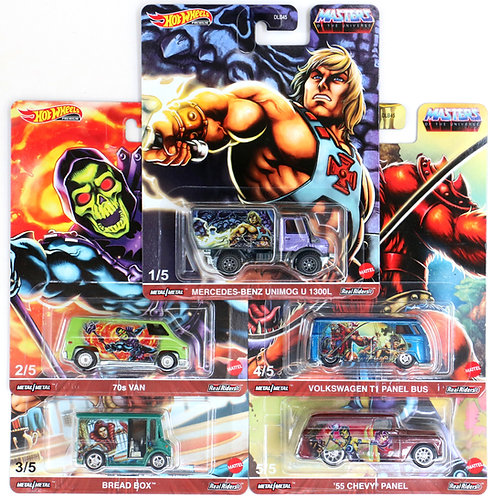 HW Masters of the Universe Set of 5