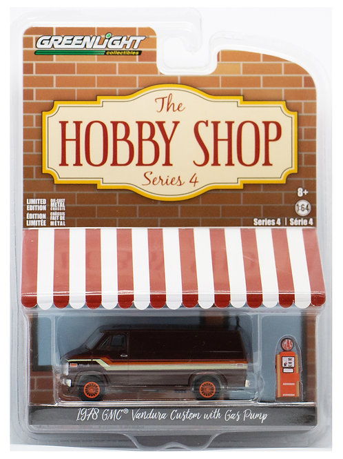 GL The Hobby Shop 1978 GMC Vandura Custom with Gas Pump
