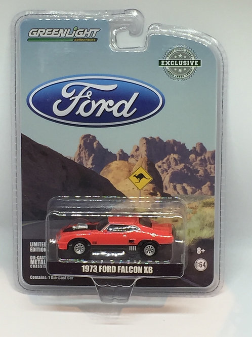 GL 1973 Ford Falcon XB - Red