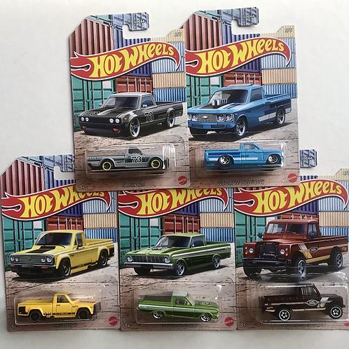 HW Hot Pick Ups (set of 5)