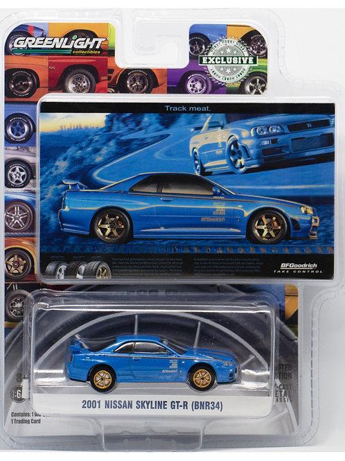 GL 2001 Nissan Skyline GT-R (BNR34)
