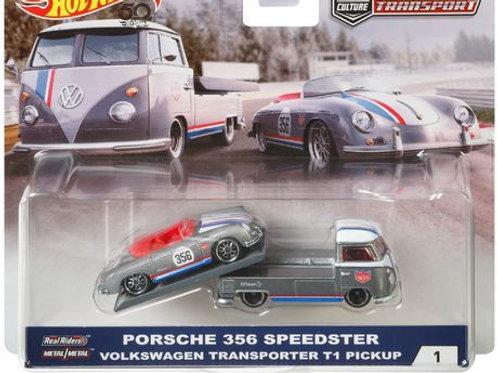 HW Team Transport #1 Porsche 356 Speedster Volkswagen Transporter T1 Pickup