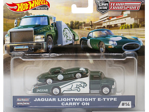 HW Team Transport #14 Jaguar Lightweight E-Type Carry On