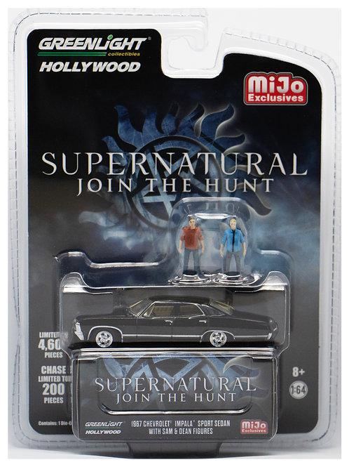 GL 1967 Chevrolet Impala Sport Sedan Supernatural with Figures