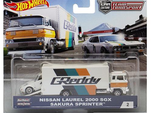 HW Team Transport #2 Nissan Laurel 2000 SGX Sakura Sprinter
