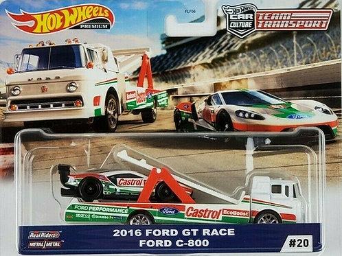 HW Team Transport #20 2016 Ford GT Race, Ford C-800, Castrol