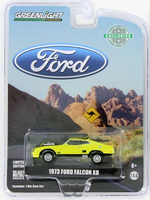 GL 1973 Ford Falcon XB - Yellow