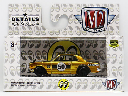 M2 1971 Nissan Skyline GT-R Mooneyes