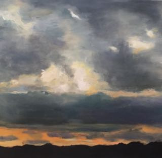 Dorset evening skyline