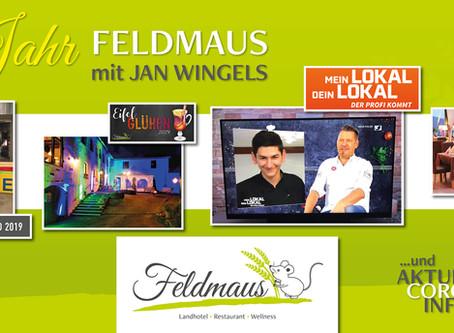 1 Jahr Feldmaus mit Jan Wingels · Corona INFO