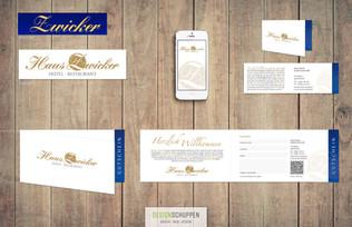 Logo-Redesign · Visitenkarten · Gutscheine