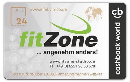 Fitnessstudio Niederprüm fitZone fitZone-Cashback-Card Mitglieder