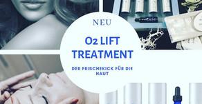 O²-Lift Treatment - Der Frischekick für deine Haut