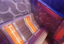 Fitnessstudio Niederprüm fitZone Infrarot-Lounge Tiefenwärmestrahler Rücken