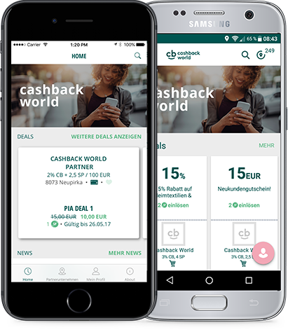 Fitnessstudio Niederprüm fitZone Cashback world App