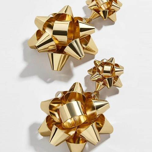 Double Bow Earrings