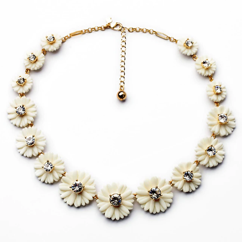 Daisy Diamante Necklace