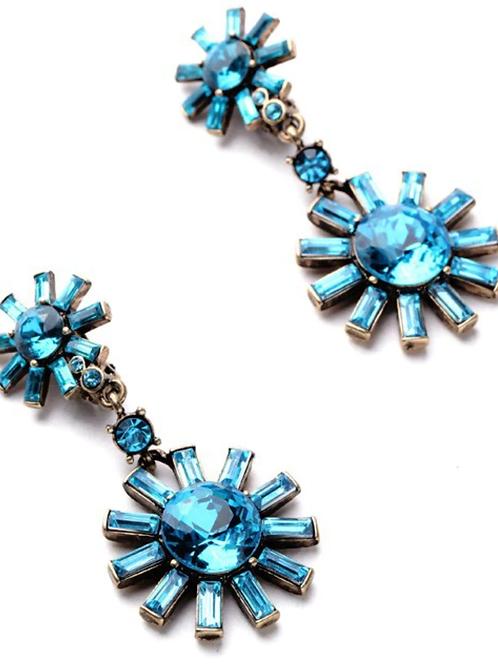 The Kate Earring - Blue