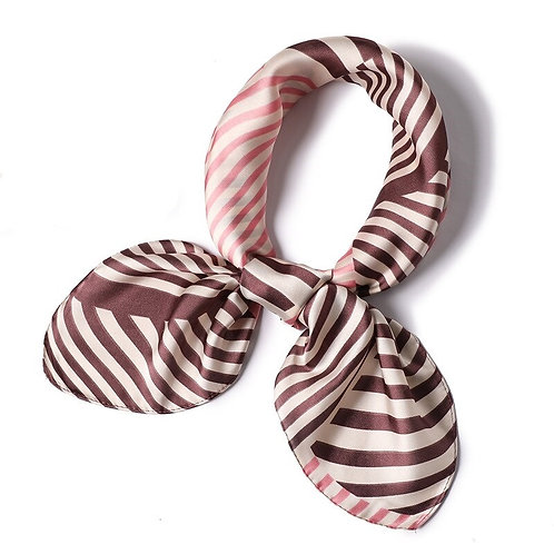 Scarf Lot #4 -pink stripe