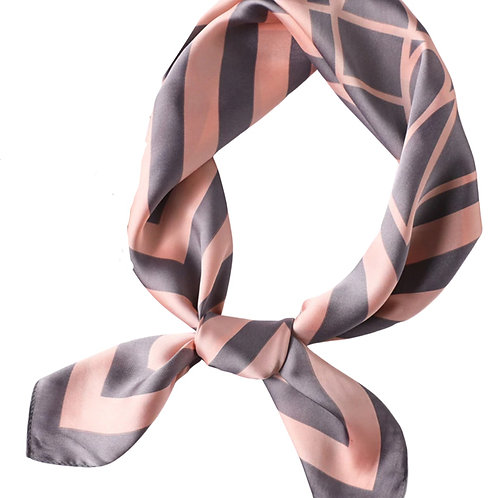 Scarf Lot #10 - pink grey