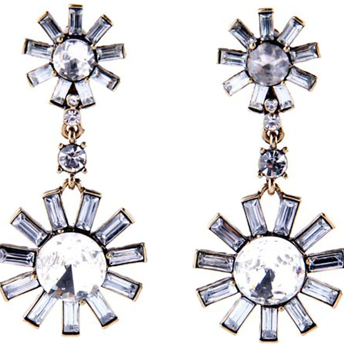 The Kate Earring - Clear