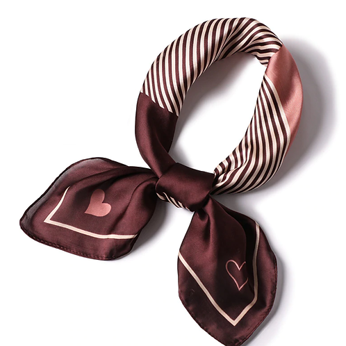Scarf Lot #1 - pink coffee