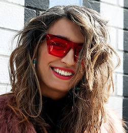 Abbey Sunglasses - Red