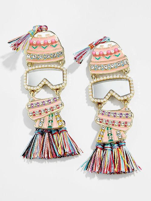 Ski Bunny Earrings