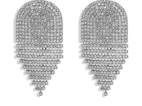 Art Deco Bling Earrings