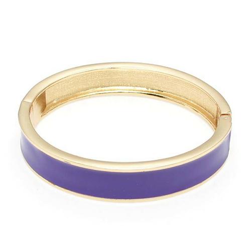 Purple Enamel Bracelet