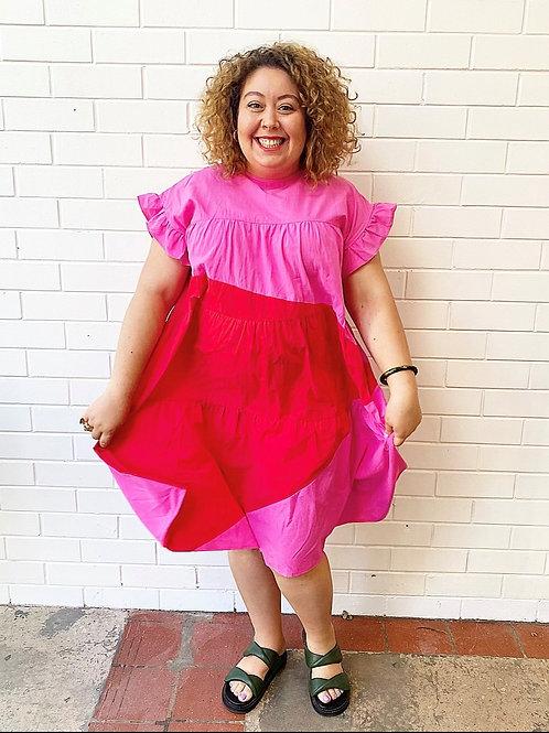 Pop Rock Park Dress - Pink