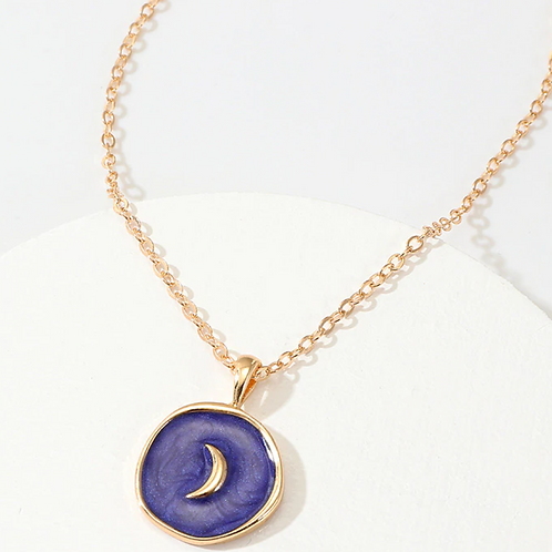 Blue Moon Necklace
