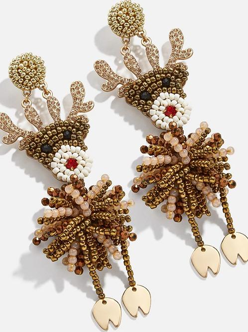 Rudolph Earrings