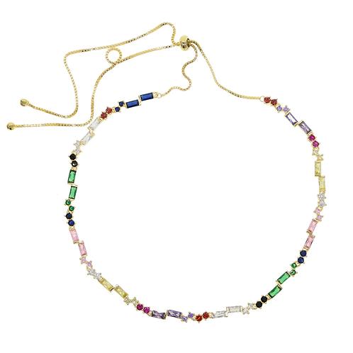 Rainbow Gem Necklace