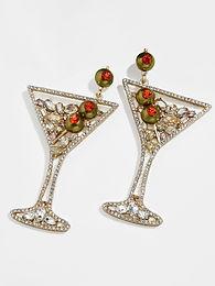 Dirty Martini Earrings