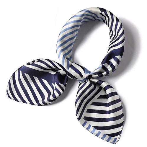 Scarf Lot #5 - navy stripe