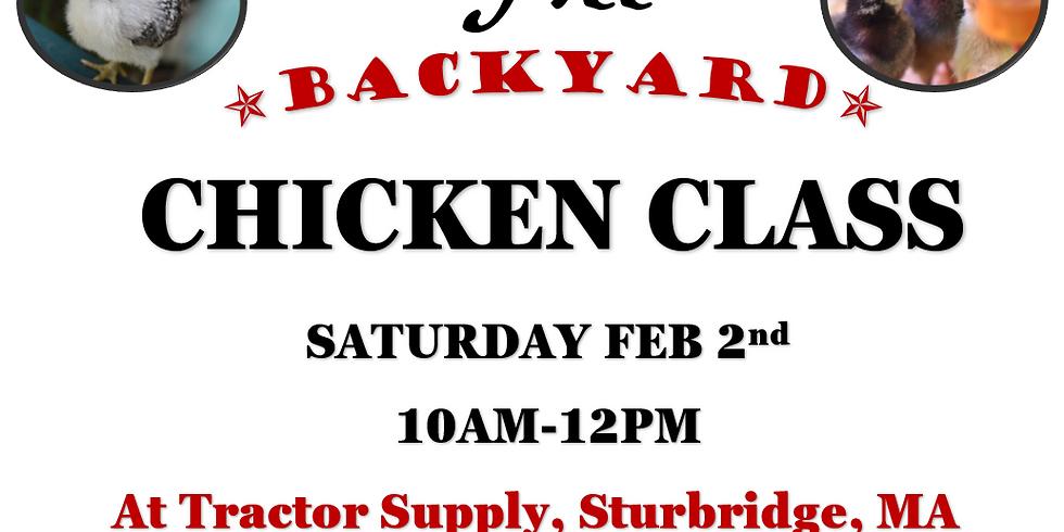 Backyard Chicken Class